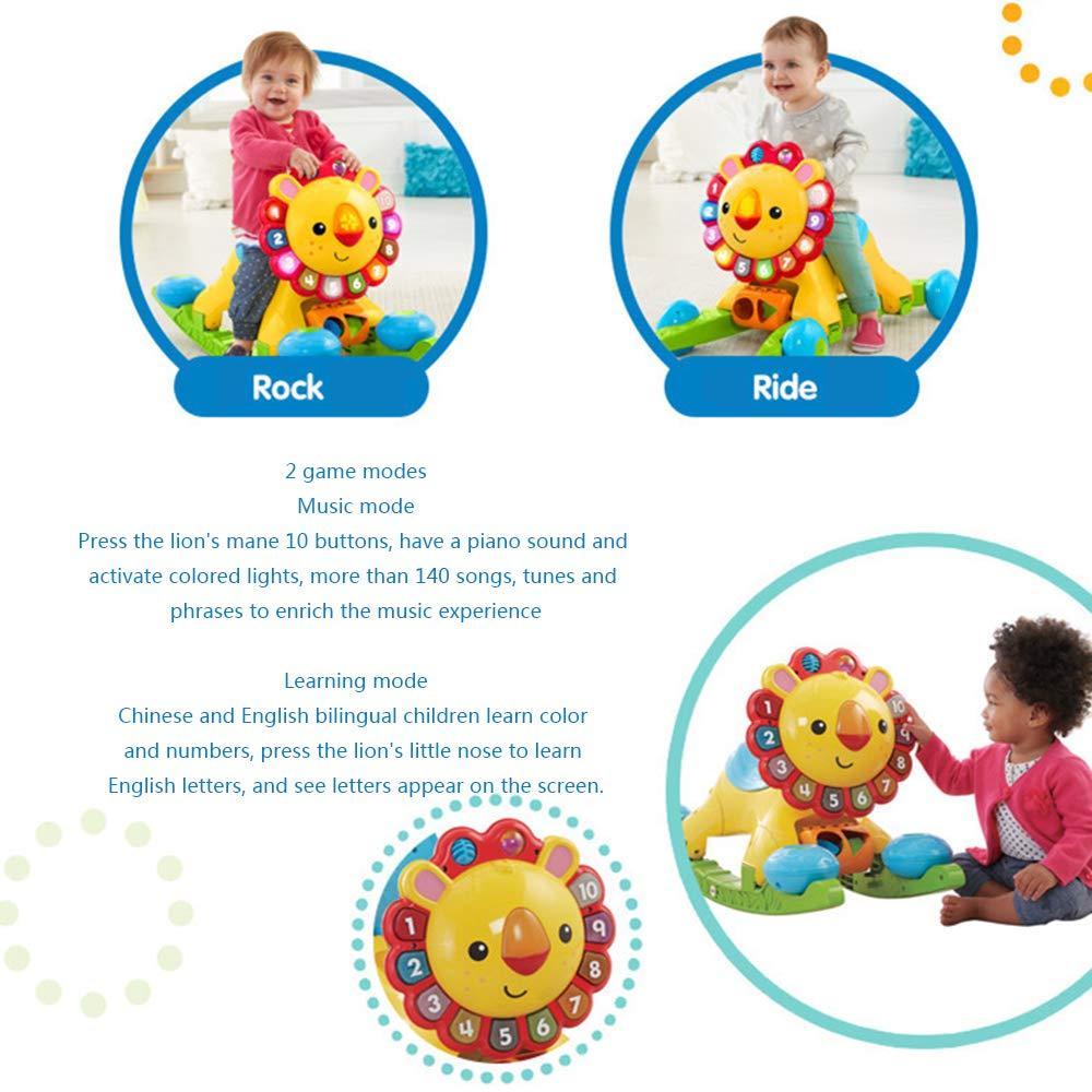 CHAOLIU 4 en 1 niños bebés Sonidos Musicales Actividad Push A lo ...