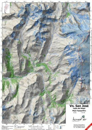 Download Volcan San Jose Topographic Map 1:50,000 ebook