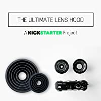 Ultimate Lens Hood - ULH - Successful Kickstarter Product - 100% Authentic - Mini for 60mm or Less Diameter Lens