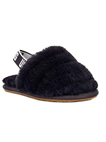 226729db531 Amazon.com | UGG Kids' I Fluff Yeah Slide Flat Sandal | Sandals
