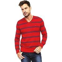 Tommy Hilfiger Suéter Rojo Sueter para Hombre