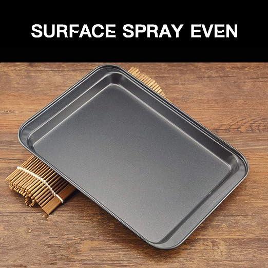 Molde rectangular antiadherente para hornear pan, horno, horno ...