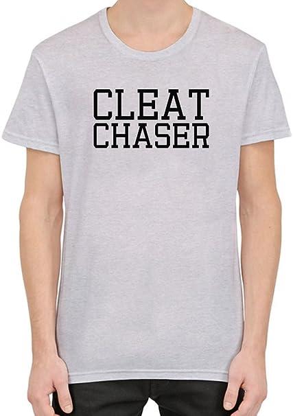 911366c4 Cleat Chaser Funny T-Shirt per Uomini Small: Amazon.it: Abbigliamento