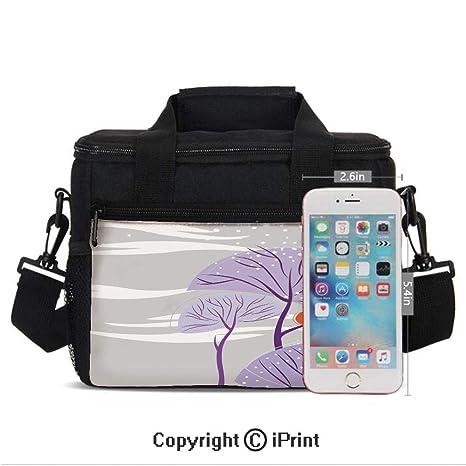 Amazon.com: Bolsa de almuerzo térmica para picnic, diseño de ...