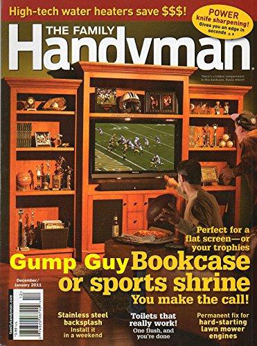 (The Family Handyman magazine, December/January 2011-Bookcase or Sports Shrine.)