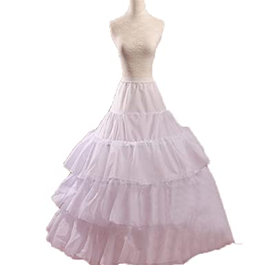 KLN_Dress Super Puffy 4 Hoops Bridal Petticoats Wedding Ball Gowns Prom Underskirts
