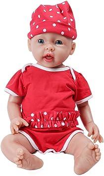 IVITA Bambola del Bambino Rinato di Corpo Intero Realistico