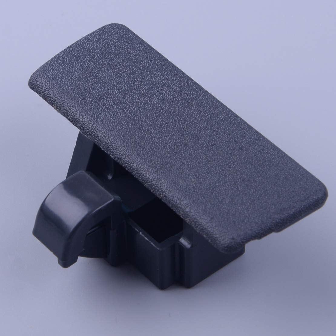 TAYDMEO Coche Negro de pl/ástico Interna de Almacenamiento guantera Tapa del Compartimiento de Bloqueo de la Tapa de la manija//Ajuste for Suzuki SX4 Swift Car Styling