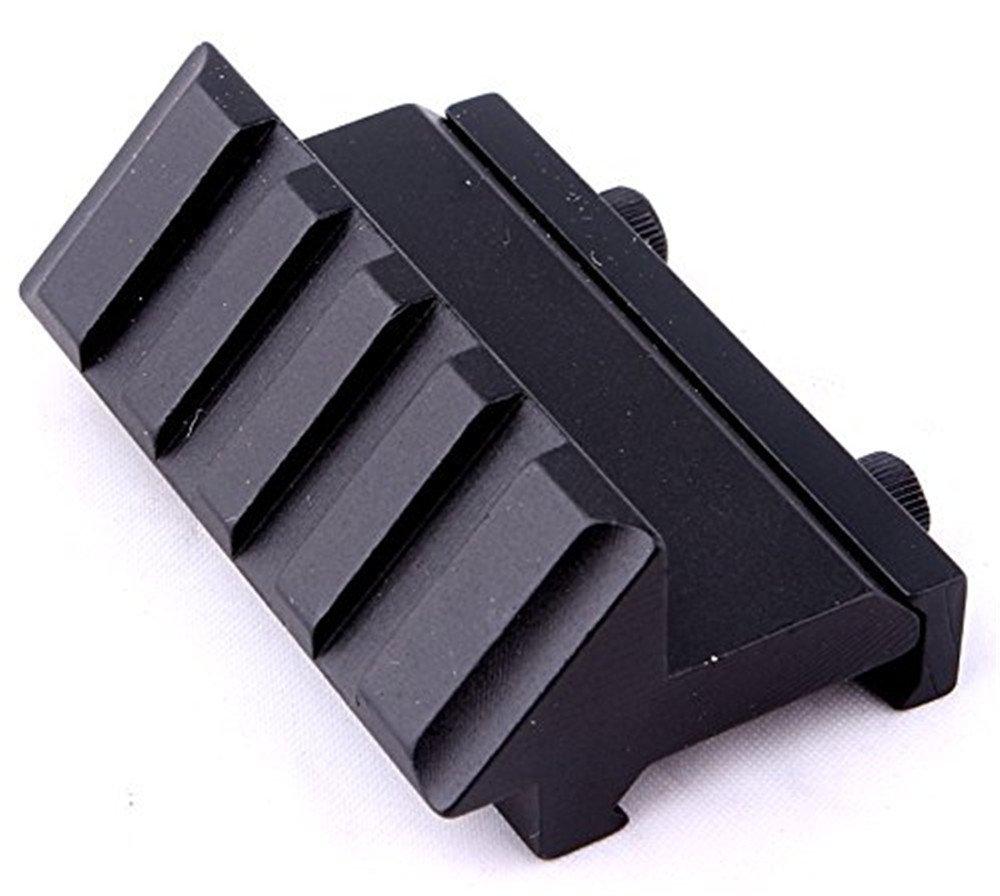 Acepta Todos los Accesorios est/ándar de Weaver//Picatinny 1913 Tactical 45 Degree Linterna Laser Picatinny Weaver Rail Mount