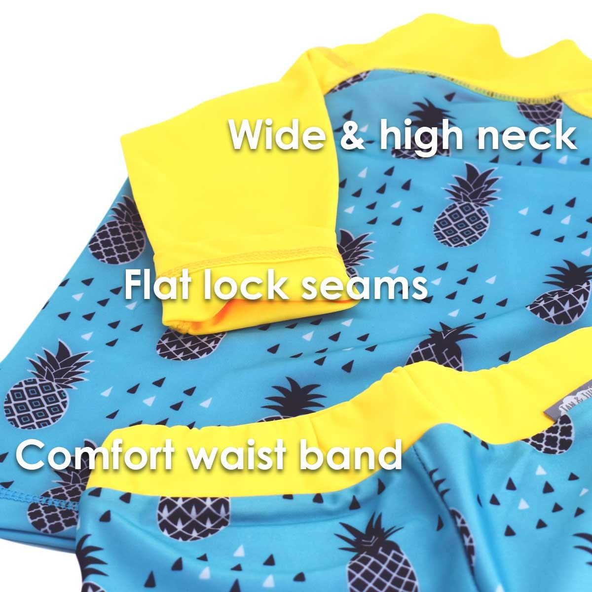 Toddler Kids Jan /& Jul UPF 50+ Long Sleeve Swim Shirts OR Sets for Baby Girls or Boys