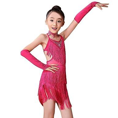 Lazzboy Vestido de Ballet Latino para Niños Pequeños para ...