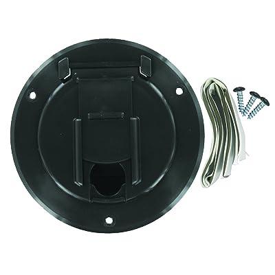 Valterra A10-2140BKVP Small Round Cord Hatch - Black: Automotive [5Bkhe2001178]