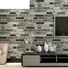 3D solid faux brick pattern brick wallpaper/Cultural brick and white tile brick living room restaurants wallpaper/ clothing store Chinese restaurant wallpapers-B