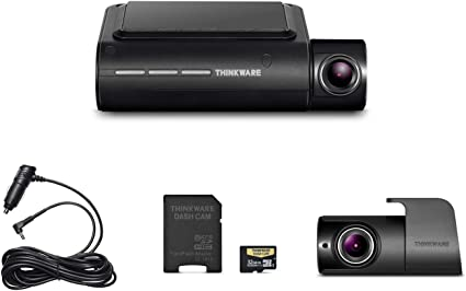 Thinkware F800 Pro Dash Cam Hardwire Rear Cam 128GB webtron-x