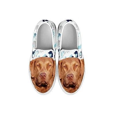 Pawlice Chesapeake Bay Retriever Dog Print Slip ONS Shoes for Kids (for Chesapeake Bay Retriever Lovers)