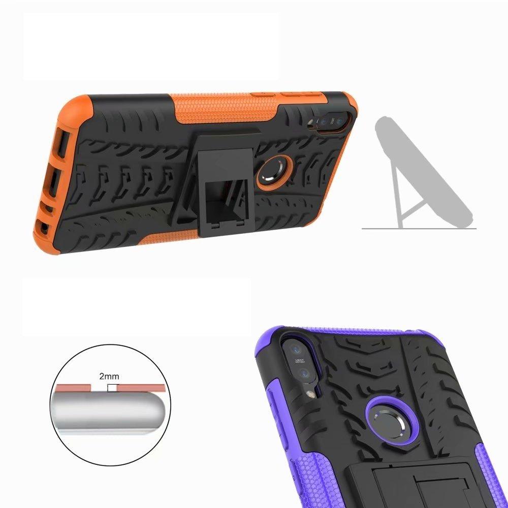 Difficile Peau de Silicone Housse Protection Lourde Double Couche G-hawk R/ésistant aux Chocs Armure Hybride Double Couche Housse pour ASUS ZenFone Max Pro M1 ZB601KL,