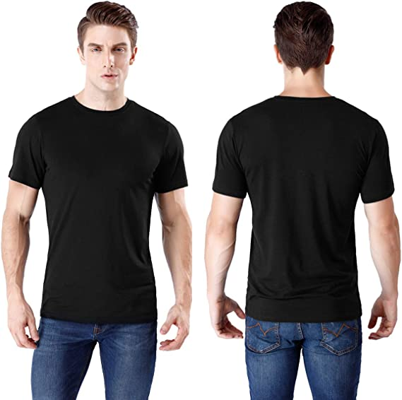 SHIRT XXL camicie uomo cotone scollo girocollo Print tshirt in oversize