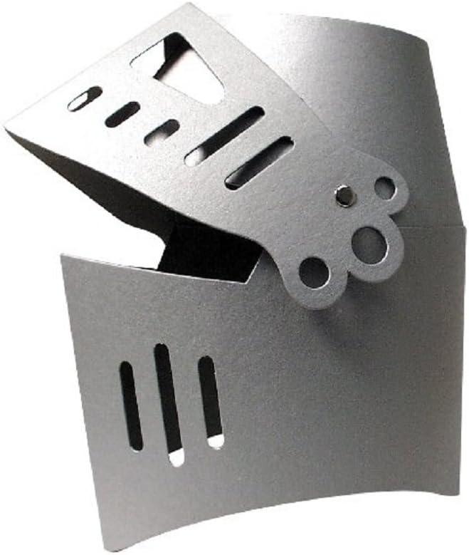 Elmo da cavaliere argento