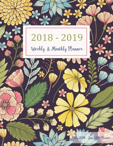 July 2018 - June 2019 Planner: Two Year - 12 Months Daily Weekly Monthly Calendar Planner For Academic Agenda Schedule Organizer Logbook and Journal ... Planner 2018-2019 8.5 x 11) (Volume 3)