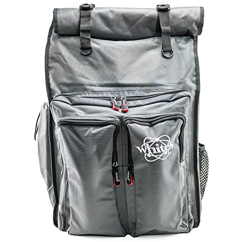 Whites Electronics Signature Series Rolltop Metal Detector Backpack 601-1262 by White's Electronics