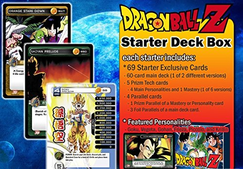 2014 Dragon Ball Z TCG Trading Card Game Starter Deck (Random Personality) (Dragon Ball Z Trading Card)