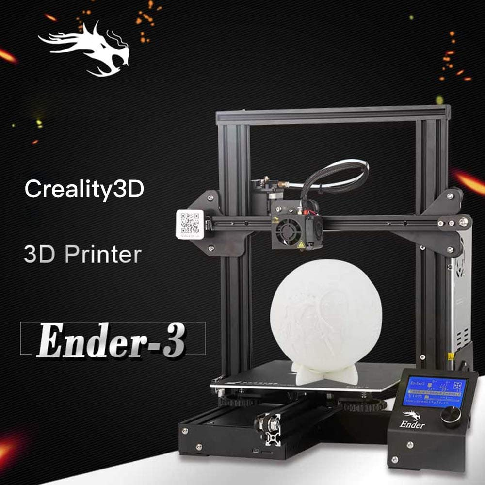 Creality Ender-3 3D-Drucker Lebenslauf Drucken V-Slot Prusa i3 fü r Home School Verwendung 220x220x250mm Build Plate Von Luxnwatts