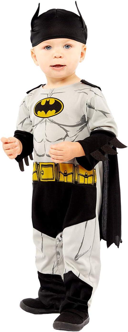 12-18 Months amscan Baby Toddler Warner Bros Classic Batman Fancy Dress Costume