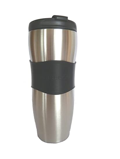 Starbucks Steel Double Walled With Rubber Grip Travel Mug 355ml