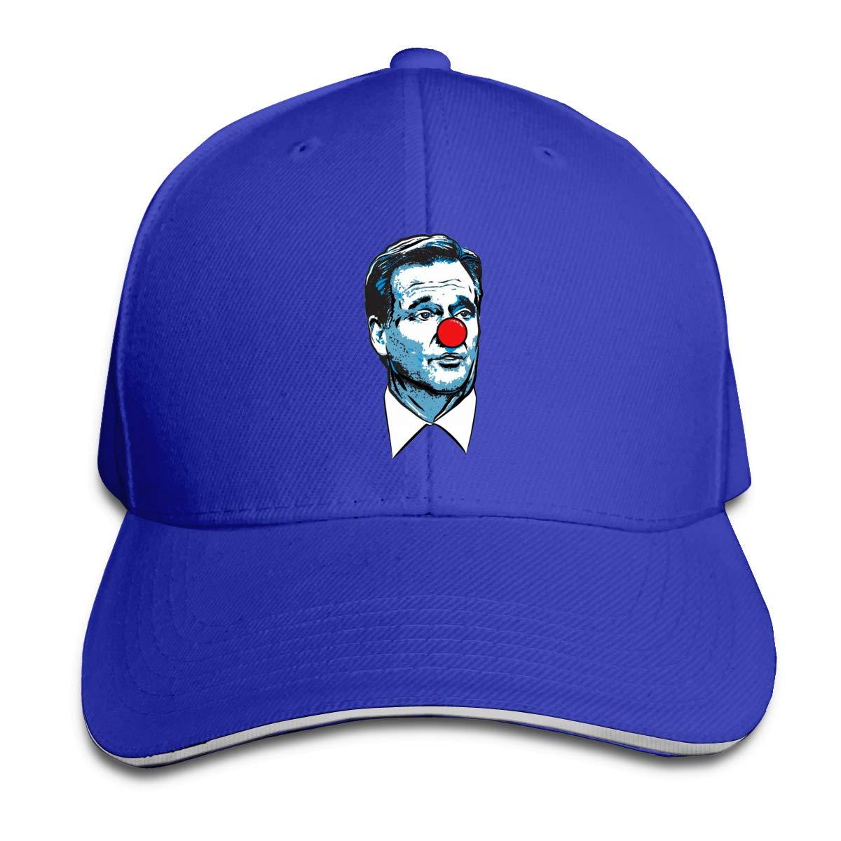 Matt Patricia Roger Goodell Clown Caps Sports Trucker Caps Pattern Strapback Hat for Men//Women