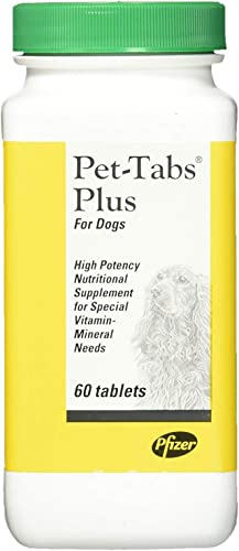 Pfizer Pet-Tabs Plus Supplement for Dogs