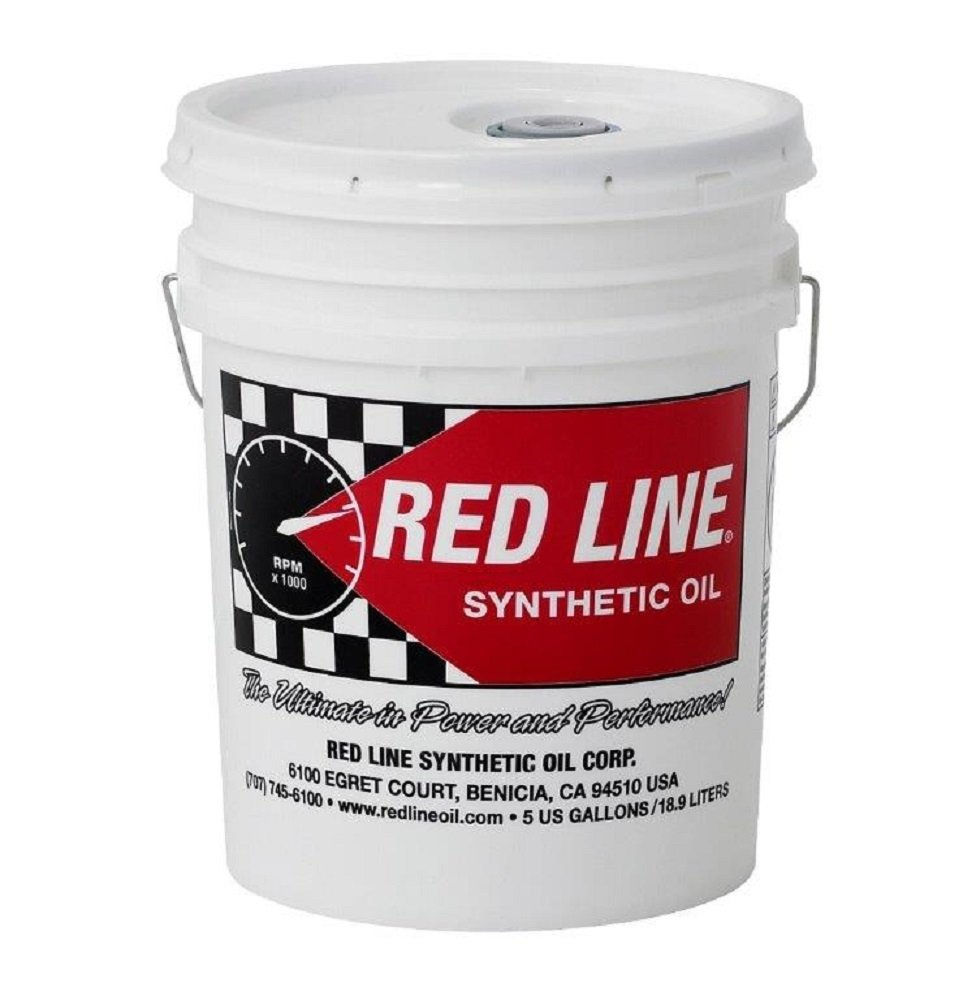 Red Line 58206 Heavy ShockProof Gear Oil - 5 Gallon by Red Line Oil