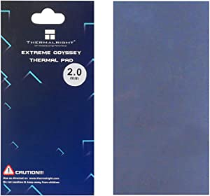 Thermalright Thermal Pad 12.8 W/mK, 85x45x2mm, WENDU Non Conductive Heat Resistance High Temperature Resistance, Silicone Thermal Pads for Laptop Heatsink/GPU/CPU/LED Cooler