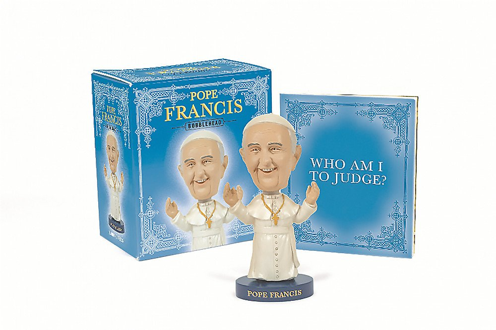 Pope Francis Bobblehead Miniature Editions product image