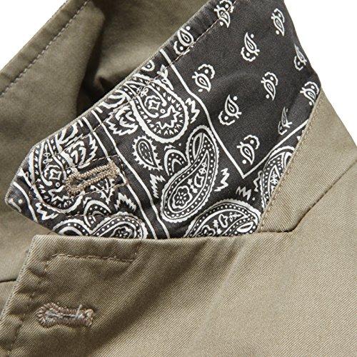 Beige Coats Men Verde Giacca verde Giacche Jackets Uomo Beige Alessandrini Daniele 7222l wUpAqH