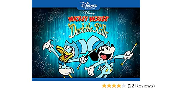 disney duck the halls a mickey mouse christmas special