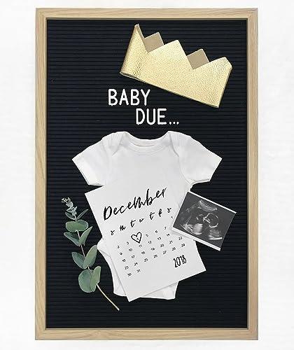 Amazon pregnancy announcement calendar usha create that perfect pregnancy announcement calendar usha create that perfect baby memory book personalized calendar styled yourself to solutioingenieria Images