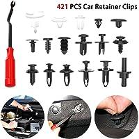 Packung 6mm Loch Auto-T/ür-Verschluss-Klipp-Auto Styling Fahrzeug Verkleidungs-Panel-Nieten Verbindungsklammern f/ür Suzuki Mazda FashLady 50Pcs