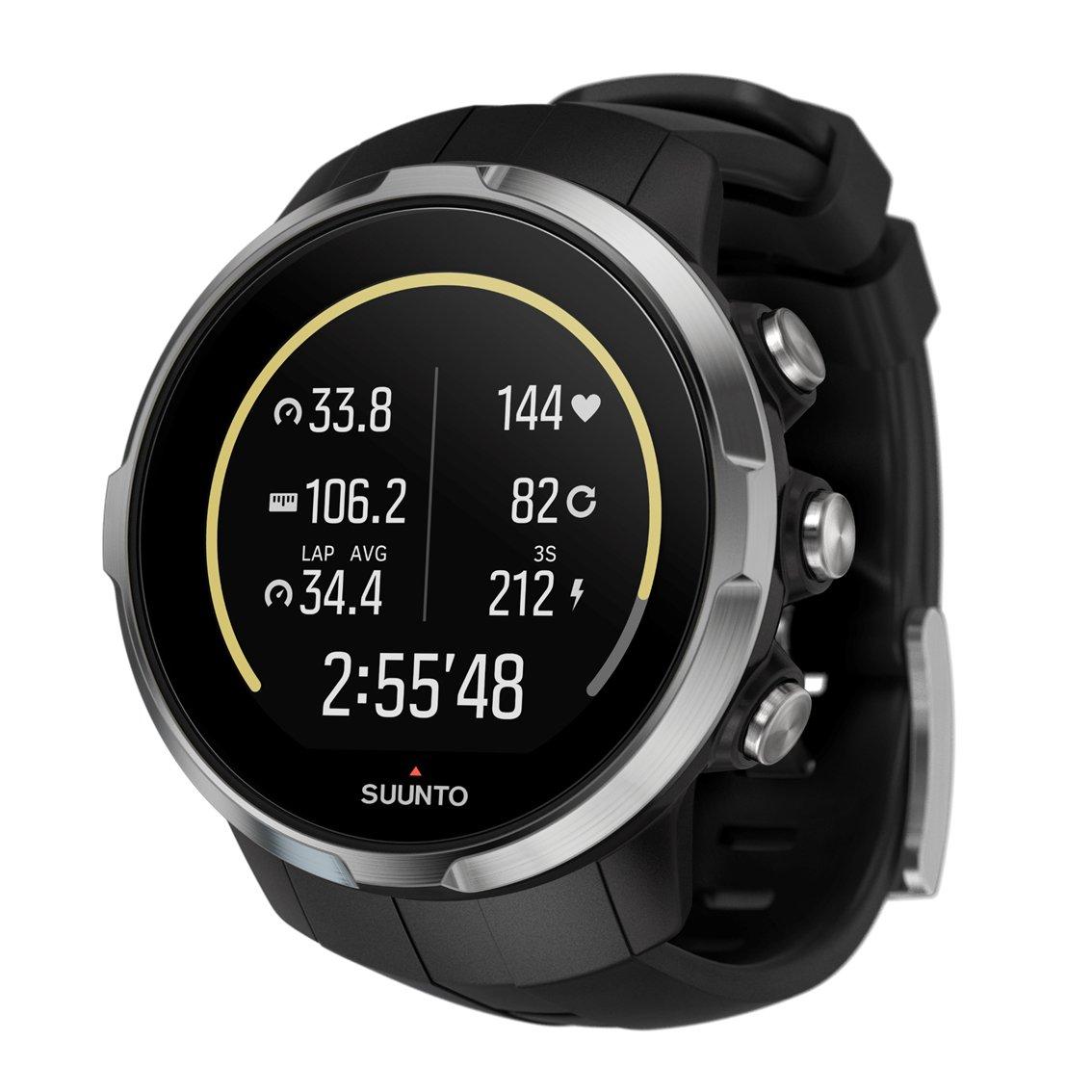 スント(SUUNTO) 腕時計 スパルタン スポーツ 10気圧防水 GPS 速度/距離/高度計測 [日本正規品 メーカー保証2年] B01KA5IJFM ブラック ブラック
