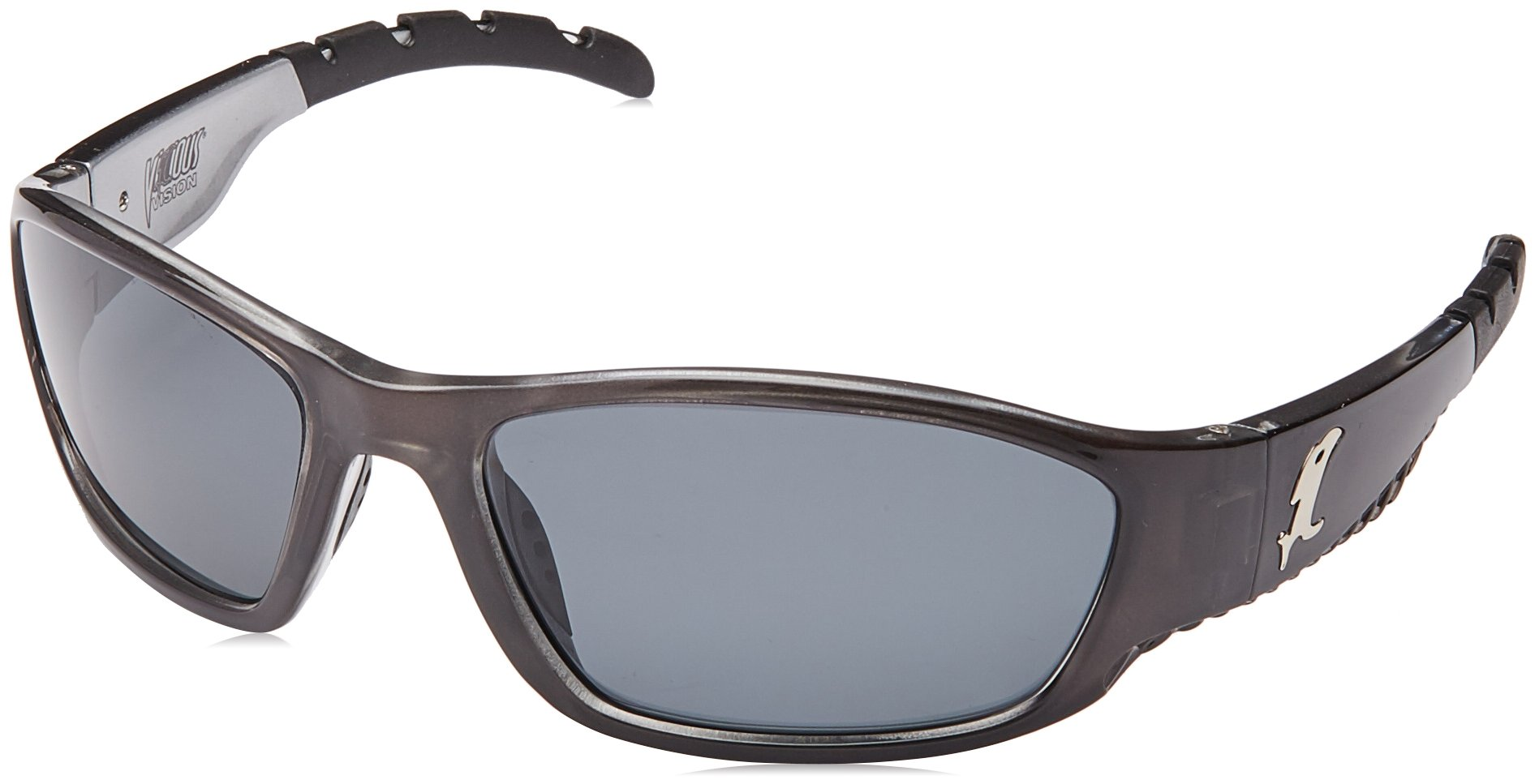 Vicious Vision Venom Pro Series Sunglasses, Smoke Grey by Vicious Vision (Image #1)
