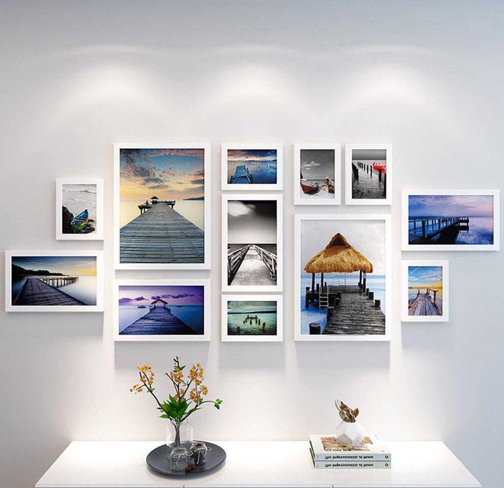 Photo Wall GAO JI Feng 12 Bilderrahmen-Wand-Galerie-Kit beinhaltet ...