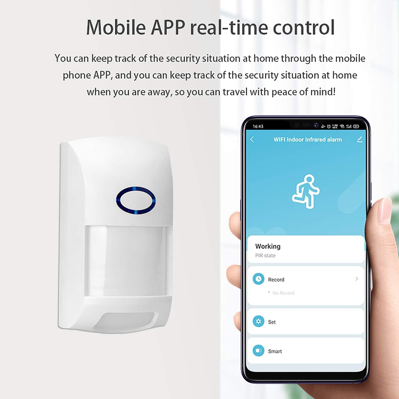 WIFI Movement Sensor Smart Life APP Wireless Motion PIR Sensor Detector Device