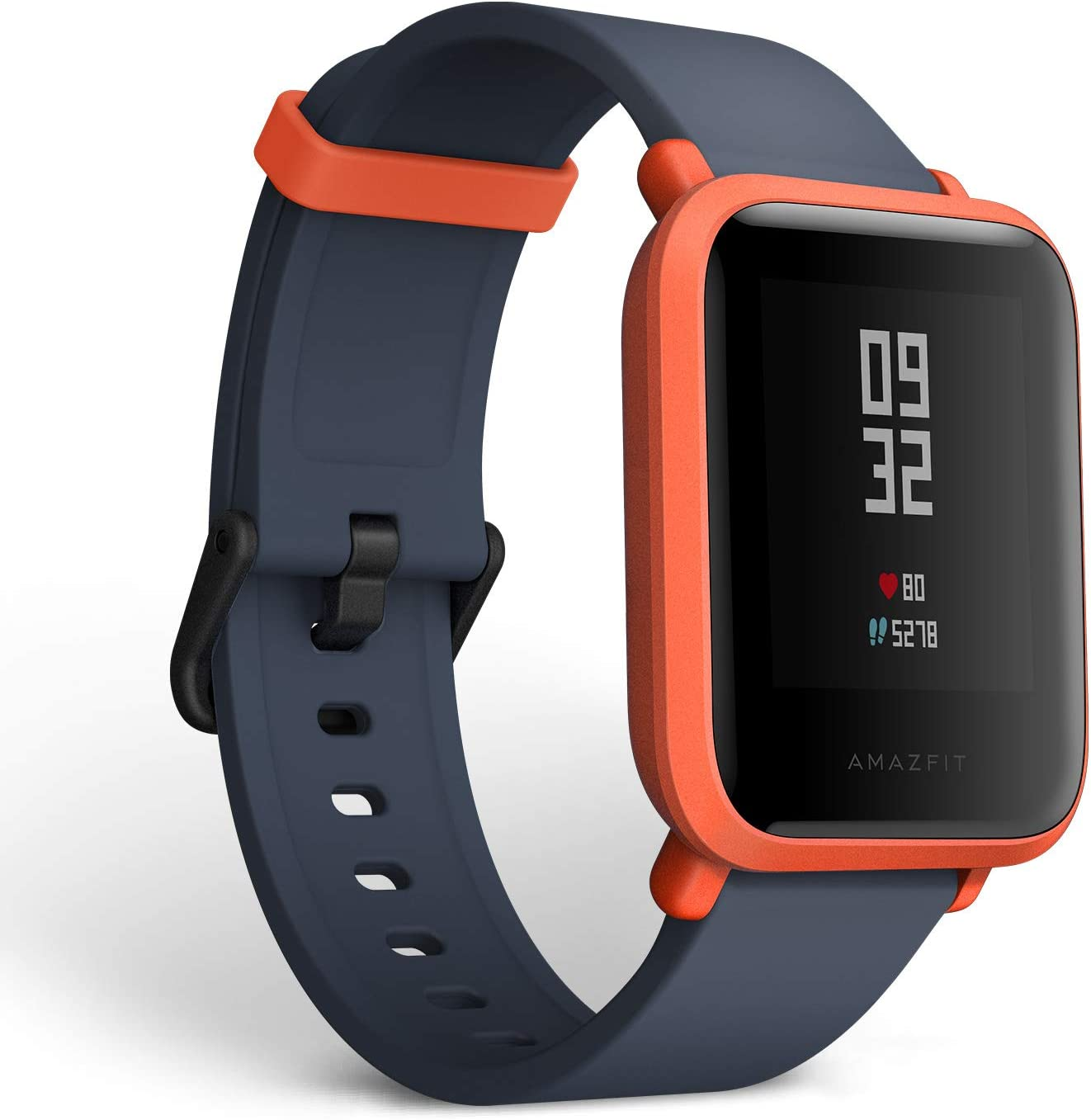 Amazifit Bip A1608 - Smartwatch, Color Rojo (Cinnabar Red)