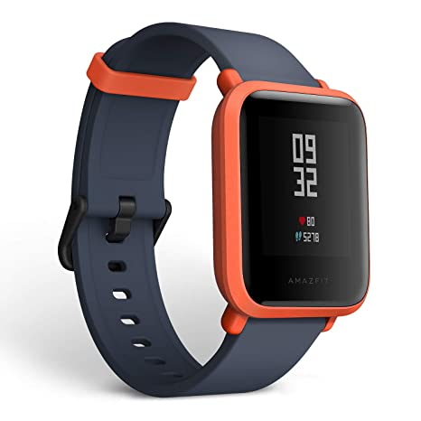 Amazifit Bip A1608 - Smartwatch, Color Rojo (Cinnabar Red): Xiaomi ...