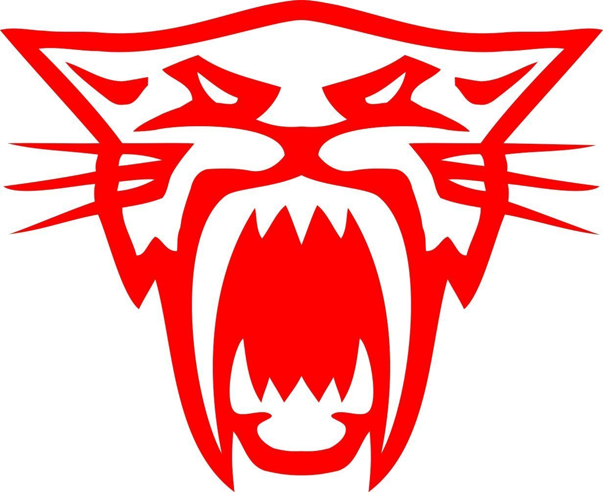 Arctic Cat Head Decal Sticker (Red) Decals Express COMINU017842