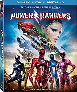 Cover Image for 'Saban's Power Rangers [Blu-ray + DVD + Digital HD]'