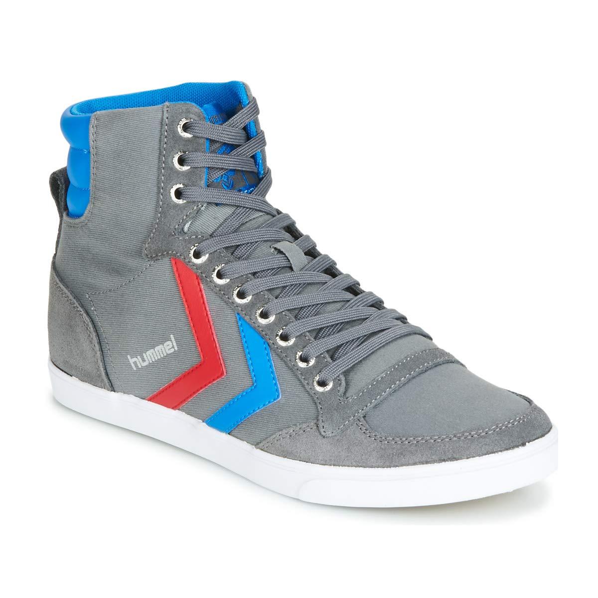 grau grau grau rot blau hummel Unisex-Erwachsene Slimmer Stadil High-Top  Qualität garantiert