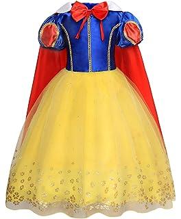 Disfraz de Princesa de Nieve para Niñas, para Halloween ...