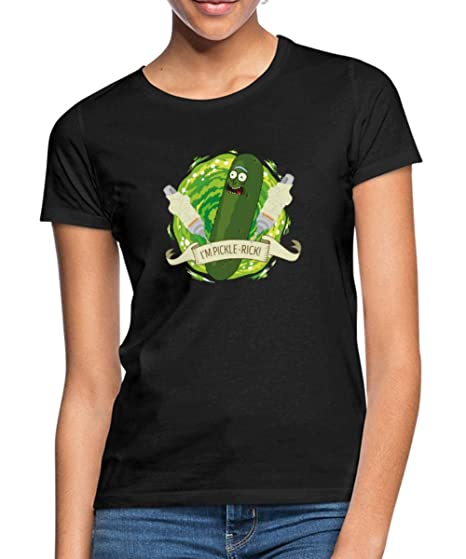 Rick and Morty I/'m Pickle-Rick Gurken-Rick Frauen T-Shirt