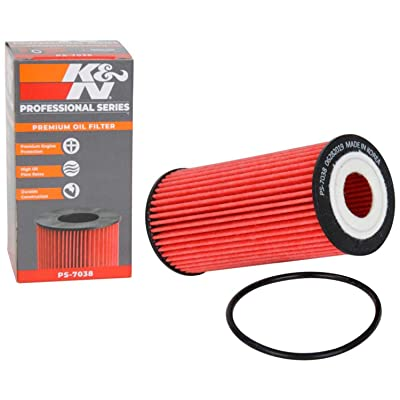 K&N Premium Oil Filter: Designed to Protect your Engine: Fits Select AUDI/PORSCHE/VOLKSWAGEN Vehicle Models (See Product Description for Full List of Compatible Vehicles), PS-7038: Automotive