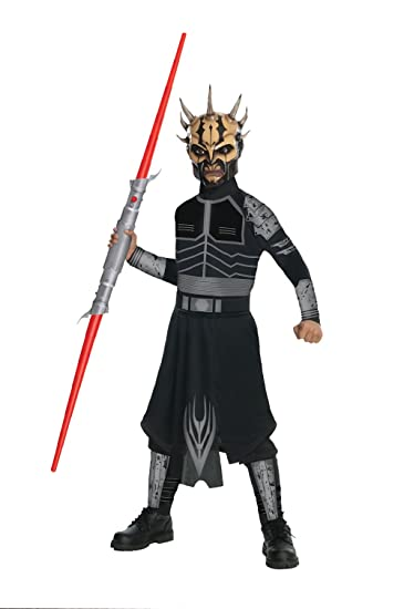 Amazon Com Star Wars Child S Savage Opress Costume One Color